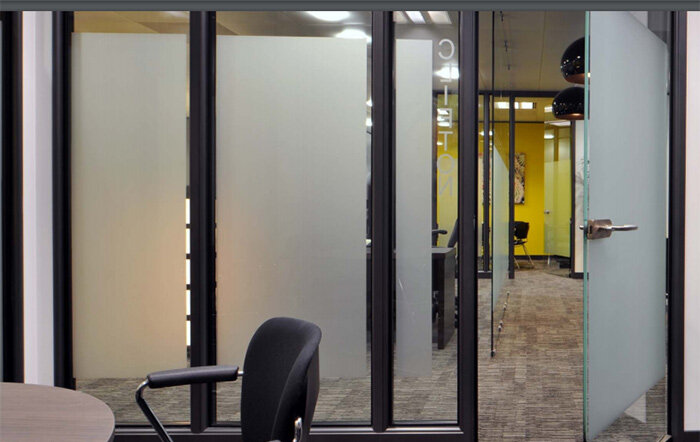 Details Of Double Glazed Glass : Sas system double glazed glass office partitioning