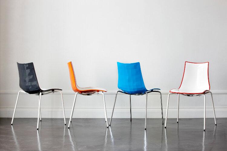 Zebra bicolore Chairs
