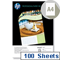 HP A4 Superior Inkjet Matt Paper 180gsm 100 Sheets Q6592A