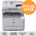 OKI MC342DN 4 in 1 Colour Laser Printer Duplex Network