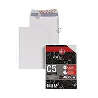 Plus Fabric Envelopes (C5) Peel and Seal 110g/m2 (1 x Pack of 25) [x2 + Free Labels Kit] October - December 2015