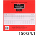 Collins Cathedral 150 Analysis Book 24 Cash Column 96 Pages 150/24.1