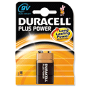 Duracell Plus 9V Alkaline Battery MN1604B1