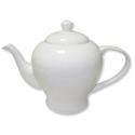 5 Star Teapot Fine Bone China White