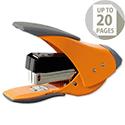 Rexel Easy Touch Stapler Quarter Strip Capacity 20 Sheets Orange Ref 2102634