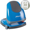Rexel Easy Touch Low Force 2 Hole Punch Capacity 30x 80gsm Blue Ref 2102641