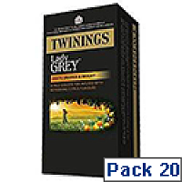 Twinings Tea Bags Lady Grey Ref A07551 [Pack 20]