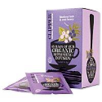 Clipper Organic Blackcurrant and Acai Berry Tea Fairtrade Caffeine-free 25 Teabags Ref A07615