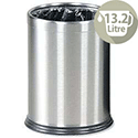 Rubbermaid Bin Hideabag Stainless Steel 13.2 Litres W241xH318mm Ref FGWHB14SS
