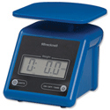 Salter PS-7 Compact Postal Scale Blue Ref 216965005260