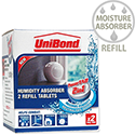 Refill Tabs For UniBond Small Humidity Absorber Ref 1554712 [Pack 2]