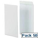 Securitex Pocket Envelopes 130gsm Peel & Seal C5 White Ref 8350204 [Pack 50]