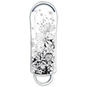 Integral Xpression 8GB Flash Drive USB 2.0 Flowers
