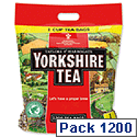 Yorkshire Tea Bags Ref 1109 [Pack 1200]