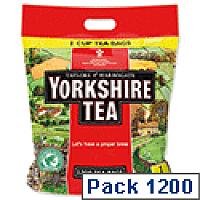 Yorkshire Tea Bags Ref 1109 [Pack 1200]
