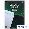 Basildon Bond Envelopes C4 White Pack 15 Ref R10046