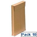 New Guardian Envelopes C4 Manilla Gusset Pack 10 Ref R0003
