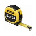 Stanley Retractable 8m Tape Measure