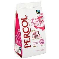 Percol Fairtrade Latin American Ground Coffee 200g Ref A07934
