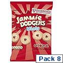 Burtons Mini Jammie Dodgers Packs 7 Biscuits Per 20g Bag Ref 13570 [8 Bags]