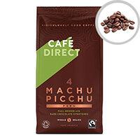 Cafe Direct Machu Pichu Roast Whole Bean Coffee 227g Ref FCR1004
