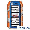 Irn Bru Soft Drink Can 330ml Ref A07078 [Pack 24]