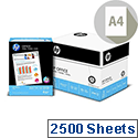 HP Hewlett Packard A4 80gsm White Multifunction Office Paper Box of 2500 Sheets