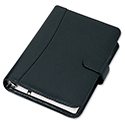 Collins Balmoral Personal Organiser Leather with 2017 Diary Insert For Refills 172x96mm Black Ref PR4699