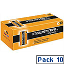 Duracell Industrial Batteries Size C Pack 10