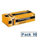 Duracell Industrial Batteries 9V Pack 10