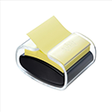 Post-it Pro Z-Note Dispenser and One Pad 76x76mm Black Ref NPRO-B-1SSCYR330-EU