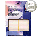 Avery Wallet of Labels 19x62mm White (406 Labels)