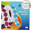 Avery Label Dispenser for 16x22mm White (1400 Labels)