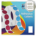 Avery Label Dispenser for 24x37mm White (600 Labels)