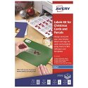 Avery Inkjet Labels Kit For Christmas Letters And Parcels (92 Labels)