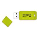 Integral Neon Flash Drive USB 3.0 Yellow 16GB Ref INFD16GBNEONYL3.0