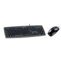 Cherry J82-16001 K-1 Desktop Corded USB Keyboard and M-5450 Optical Mouse Black Ref JD-0800GB-2