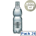 Harrogate Sparkling Bottle Water 500ml Pack of 24
