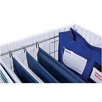 Versapak Suspension Files for MT2 Trolleys Blue Ref Wallet 15 [Pack 5]