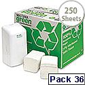 Maxima Bulk Pack Dispenser Toilet Tissue 2 Ply 250 Sheets White Pack 36 KMAX2067