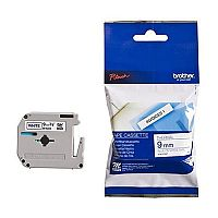 Brother P-touch M-K223BZ 9mm x 8m Blue on White Plastic Labelling Tape