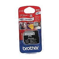 Brother P-touch MK-233BZ 12mm x 8m Blue On White Non Laminated Labelling Tape