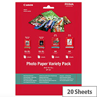 Canon Variety Pack Photo Paper A4 10x15 (Pack of 20)