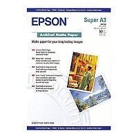 Epson (A3+) Archival Matte Paper (50 Sheets) 192gsm (White)