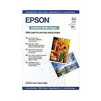 Epson (A4) Archival Matte Paper (50 Sheets) 192gsm (White)