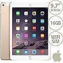 Apple iPad Air 2 16GB WiFi + Cellular iOS 8.0 Gold SIM Included