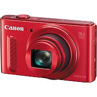 Canon PowerShot SX610 HS (20.2MP) Wifi Digital Camera 18x Zoom 3.0 inch LCD (Red)