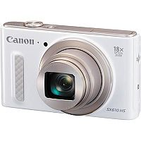Canon PowerShot SX610 HS (20.2MP) Wifi Digital Camera 18x Zoom 3.0 inch LCD (White)