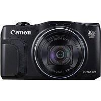 Canon PowerShot SX710 HS (20.3MP) WiFi Digital Compact Camera (Black) 30x Zoom 3.0 inch LCD Screen