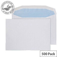 Purely Everyday Mailer Gummed White 80gsm C5- 155x220mm (Pack of 500)